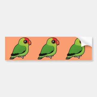 Black-winged Lovebird Bumper Sticker