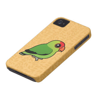 Black-winged Lovebird iPhone 4 Covers