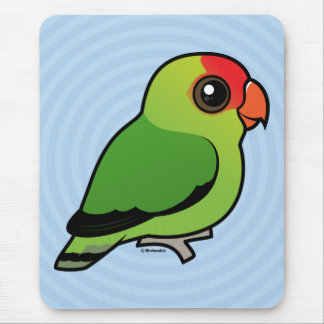 Black-winged Lovebird Mouse Pad