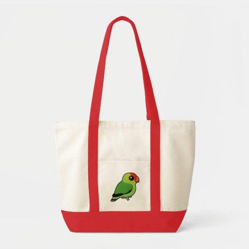 Black-winged Lovebird Tote Bag