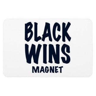 """""""BLACK WINS MAGNET"""", Obama wins, gift Magnet"""