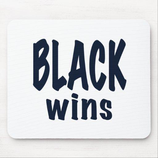 Black Wins, Obama wins Mousepads