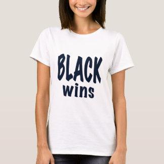 Black Wins, Obama wins T-Shirt