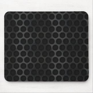 Black wire mesh mouse pad