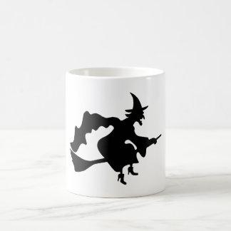 Black witch coffee mug