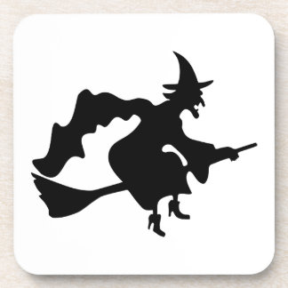 Black witch coaster