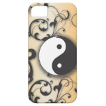 Black With Bronze Yin & Yang iPhone SE/5/5s Case