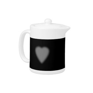 Black with Misty Heart
