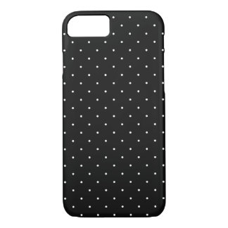 Black with White Polka Dots | Apple iPhone 7 Case