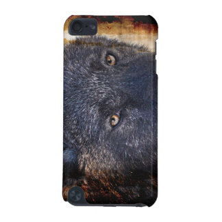 Black Wolf Eyes Wildlife-supporter  iPod Touch (5th Generation) Cover
