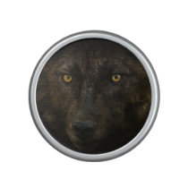 Black Wolf Wild Animal Wildlife Speaker