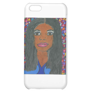 Black Woman Cover For iPhone 5C