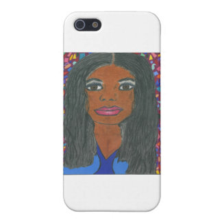 Black Woman Case For iPhone 5