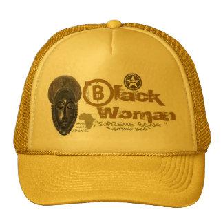Black Woman Supreme Trucker Hat