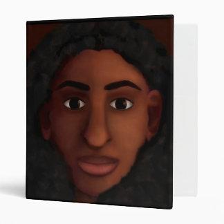 Black Woman Watching Binder