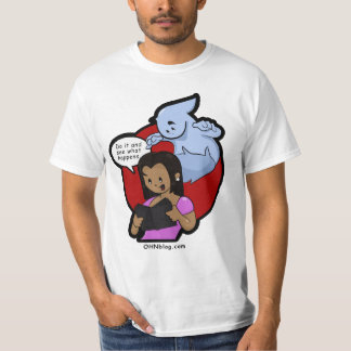 Black women and ghosts don't mix tee shirt