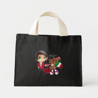 Black Women Italian Men Bag Black - Women