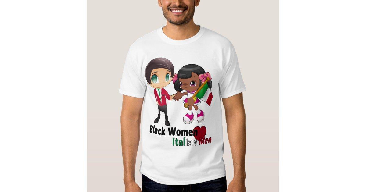 black women dating italian men