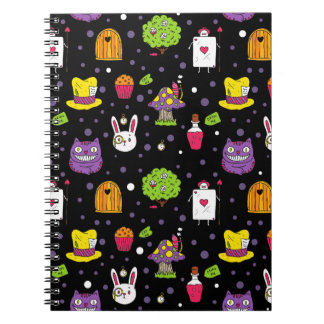 black Wonderland Notebook