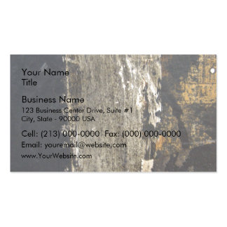 Black Wood board with scratches Business Card