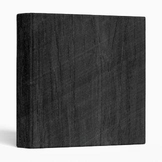 Black Wood Texture Binder