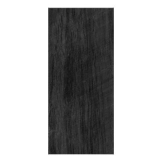 Black Wood Texture Rack Card