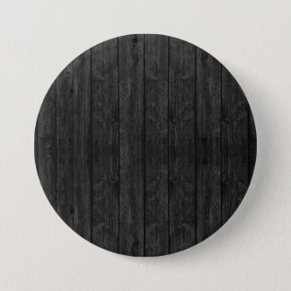 Black Wood Wall Texture Structure Button