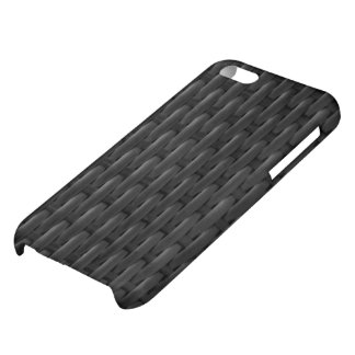 Black Woven I phone case iPhone 5C Covers