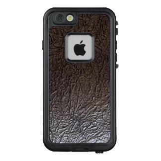 Black Wrinkle  Leather Look LifeProof FRĒ iPhone 6/6s Case