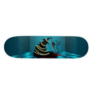 BLACK XMAS: Decorating the Christmas Tree Skateboard Deck