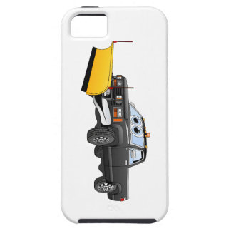 Black Y Pick Up Truck Snow Plow Cartoon iPhone SE/5/5s Case