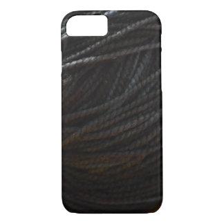 Black Yarn iPhone 8/7 Case