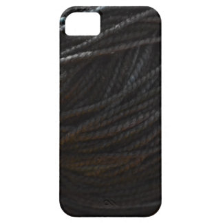 Black Yarn iPhone SE/5/5s Case