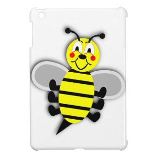 Black yellow animation cartoon bee illustration iPad mini cover