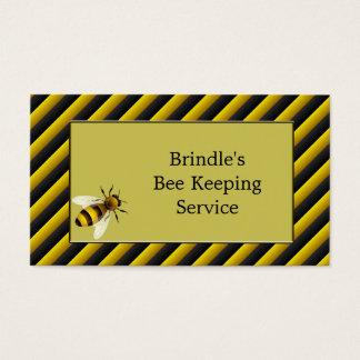 Black & Yellow Bee Keeper Business Card