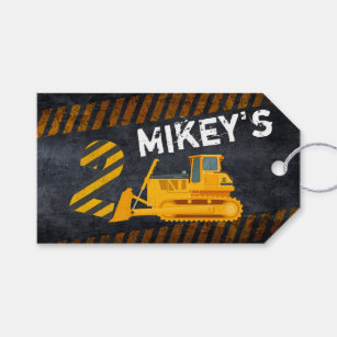Construction Theme 2nd Birthday Gifts On Zazzle