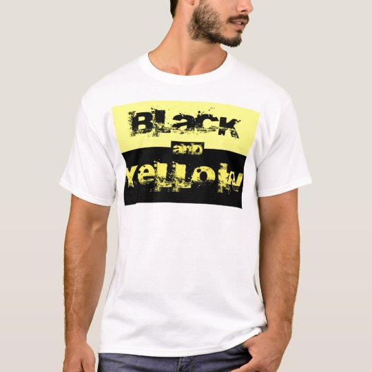 Black & Yellow Fan T-Shirt
