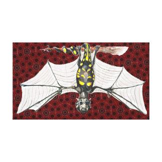 Black & Yellow Garden Spider Dragon Gallery Wrap Canvas