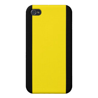Black & Yellow iPhone 4 Cover