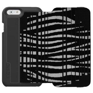 Black Zebra iPhone 6/6S Wallet Case