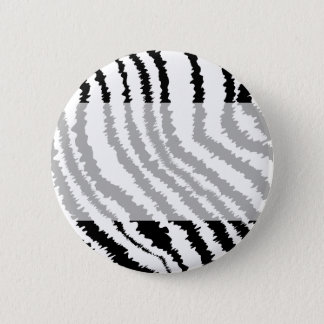 Black Zebra Print Pattern. Button
