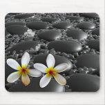 Black Zen Stones Mouse Pad