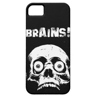 Black Zombie Brains iPhone 5  Case Romero Style Case For The iPhone 5