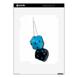 BlackAndBlueFuzzyDice070315.png Skins For The iPad 2