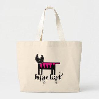 Blackat Tote Bags