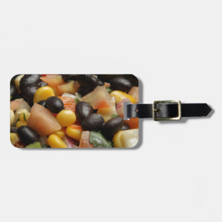 Blackbean and Corn Salad Luggage Tag