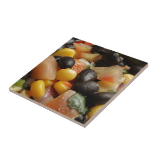 Blackbean and Corn Salad Tiles