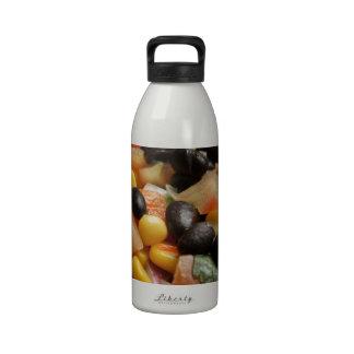 Blackbean and Corn Salad Reusable Water Bottle