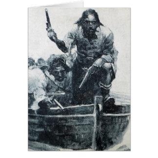 Blackbeard Approaching Card