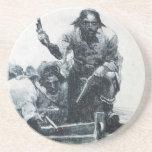 Blackbeard Approaching Coaster